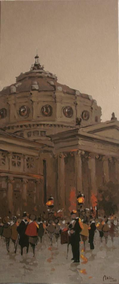 Poza Prin vechiul Bucuresti, Ateneul Rom