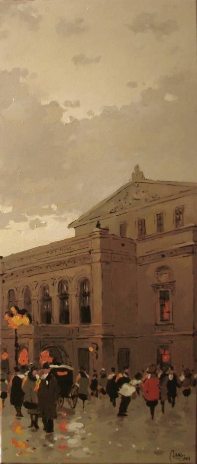 Poza Prin vechiul Bucuresti, Teatrul Nat