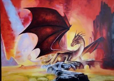 Poza Red dragon