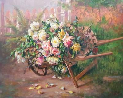 Poza roaba cu flori 9