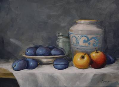 Poza Still Life With Plums