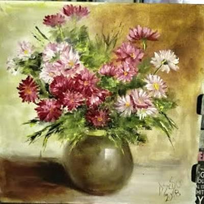Poza Studiu mic cu flori de toamna