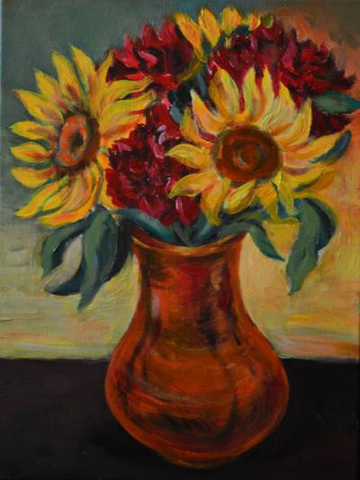 Poza Sunflower bouquet 3