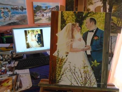 Poza Tablou nunta ..