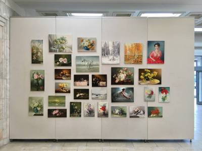 Poza Tablouri expozitie