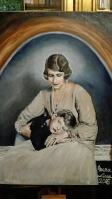 Poza Tandrete1 - Regina Mama Elena si Re