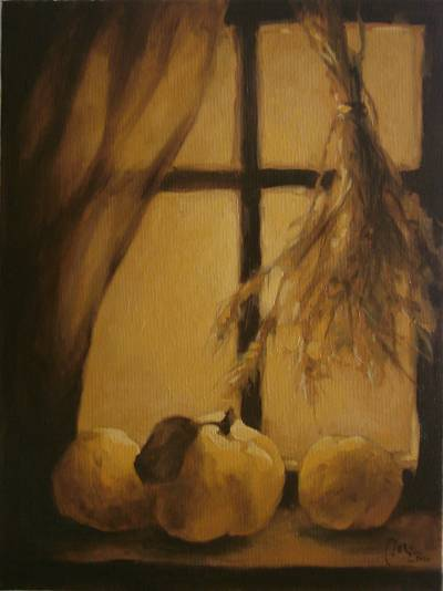 Poza Toamna in geam