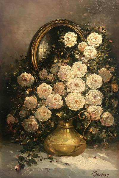Poza Trandafiri albi