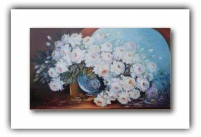 Poza Trandafiri albi cu parfum de spini