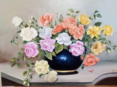 Poza Trandafiri cu aniversare
