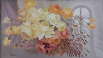 Poza trandafiri cu lumina de vis  x22