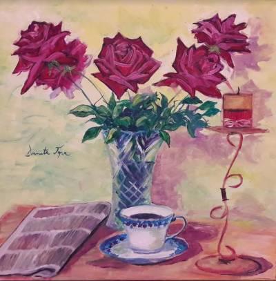 Poza Trandafiri din casa