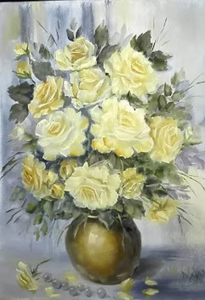 Poza Trandafiri galben-aurii