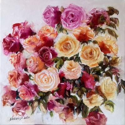 Poza Trandafiri rosii si galbeni