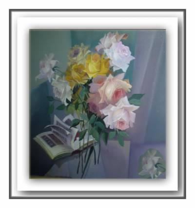 Poza Trandafiri roz  b5