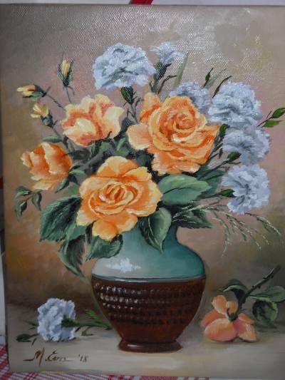 Poza Trandafiri si garoafe