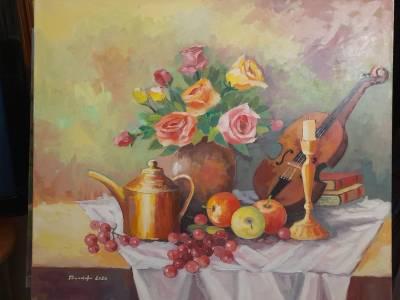 Poza Trandafiri si vioara
