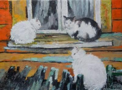 Poza Trei pisici zgribulite