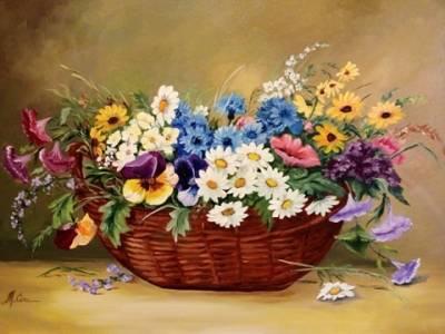 Poza Un cos cu flori