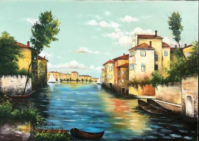 Poza Un peisaj venetian