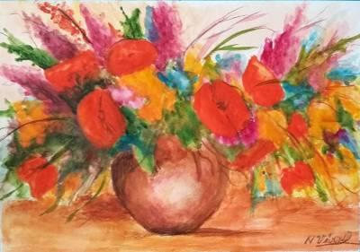 Poza Vas cu flori