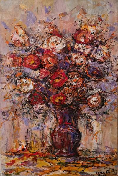 Poza vas cu flori 2