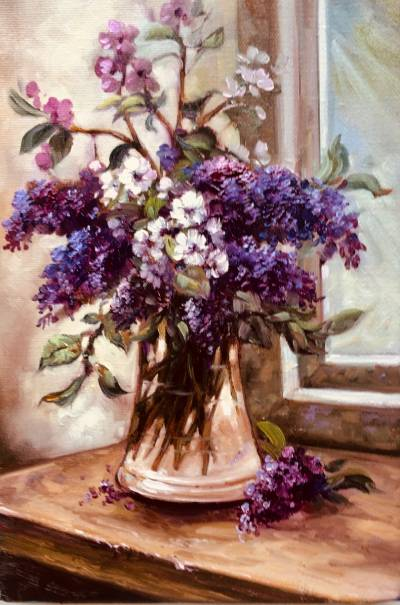Poza vas cu flori de primavara 3