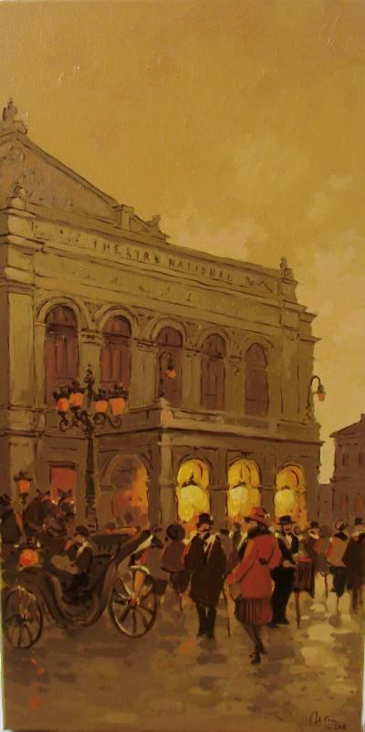 Poza Vechiul Teatru National ,Bucurestiu