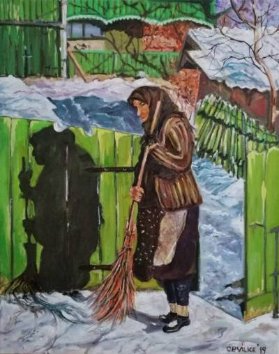 Poza Zi de iarna la bunici