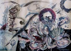 Picturi abstracte/ moderne Legaturi boeme