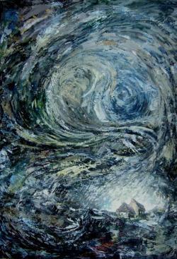 Picturi abstracte/ moderne Spirala vietii