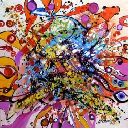 Picturi abstracte/ moderne daca fluturii ar visa