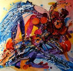 Picturi abstracte/ moderne Jucarii stricate