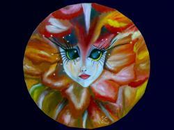 Picturi abstracte/ moderne Watching you! - Privindu-te