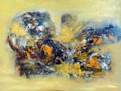 Picturi abstracte/ moderne Vis de toamna...Fluturele