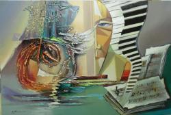 Picturi abstracte/ moderne (geniul)sunetul muzicii--x02