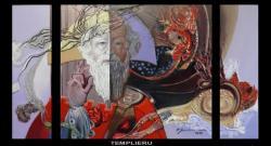 Picturi abstracte/ moderne templierul--m1