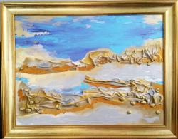 Picturi abstracte/ moderne Laguna albastra 1