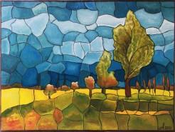 Picturi abstracte/ moderne Culorile naturii