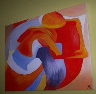 Picturi abstracte/ moderne Somnul