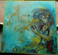 Picturi abstracte/ moderne Fluturi