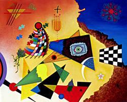 Picturi abstracte/ moderne Buscando un origen
