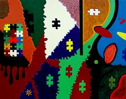 Picturi abstracte/ moderne Rompecabezas