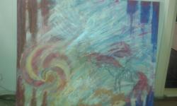 Picturi abstracte/ moderne Curcubeul evadarii