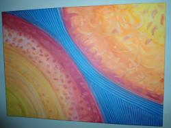 Picturi abstracte/ moderne 2 Suns