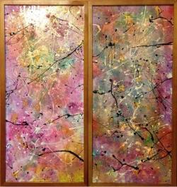 Picturi abstracte/ moderne Secret garden