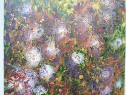 Picturi abstracte/ moderne Strange flowers