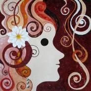 Picturi abstracte/ moderne Fata cu cercel de perla
