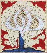Picturi abstracte/ moderne Copacul de argint