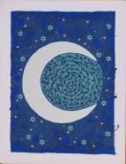 Picturi abstracte/ moderne Luna